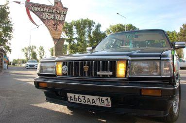 Народное ретро. Toyota Crown GS121 1985года. Компрессор всаквояже