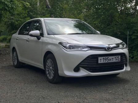 Toyota Corolla Axio 2016 - отзыв владельца