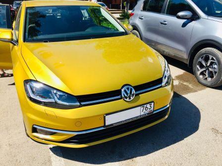 Volkswagen Golf 2018 - отзыв владельца