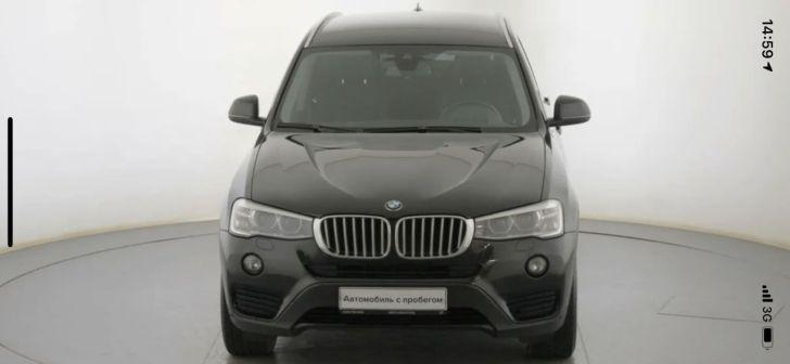 BMW X3 2015 - отзыв владельца