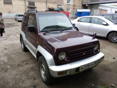 Mitsubishi Pajero Junior 1996 - отзыв владельца