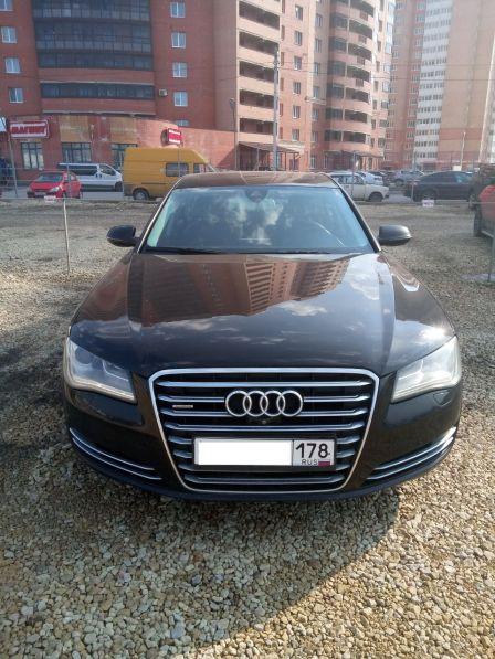 Audi A8 2012 - отзыв владельца