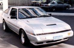 Mitsubishi Starion 1987 - отзыв владельца