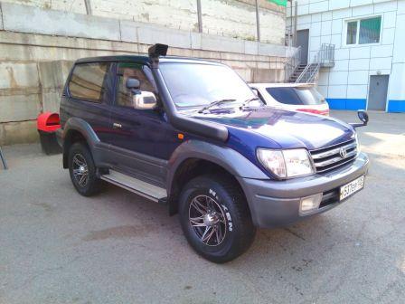 Toyota Land Cruiser Prado 2001 - отзыв владельца