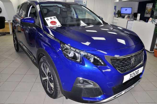 Peugeot 3008, 2018 год, 2 109 742 руб.