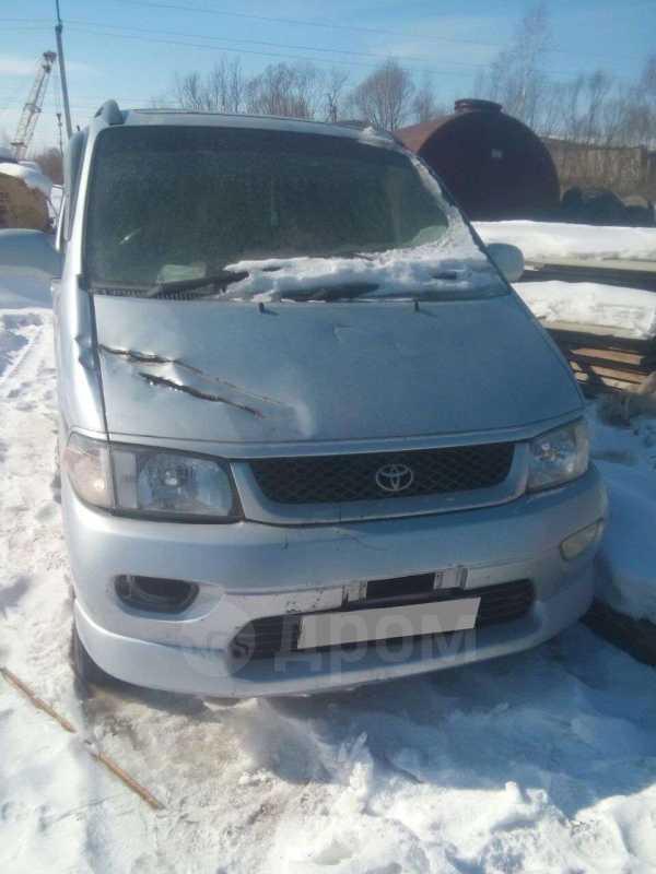 Toyota Hiace Regius, 2001 год, 170 000 руб.