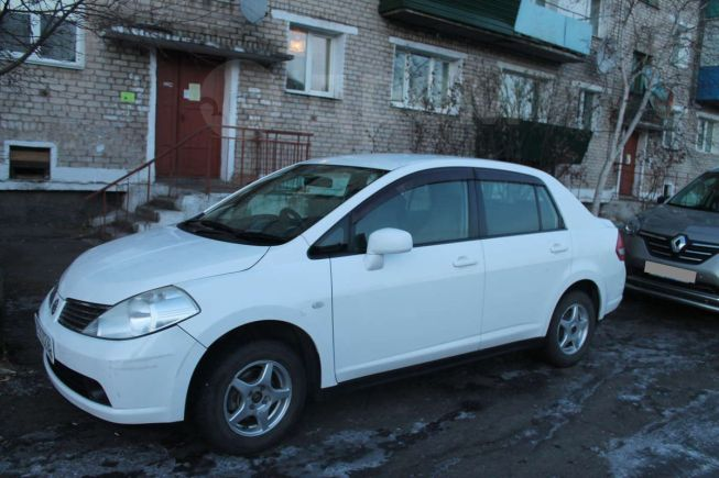 Nissan Tiida Latio, 2005 год, 320 000 руб.