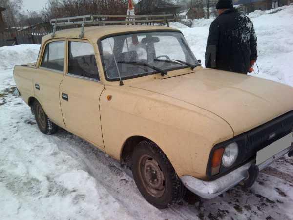 Москвич 412, 1989 год, 16 000 руб.