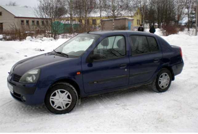 Renault Symbol, 2008 год, 225 000 руб.