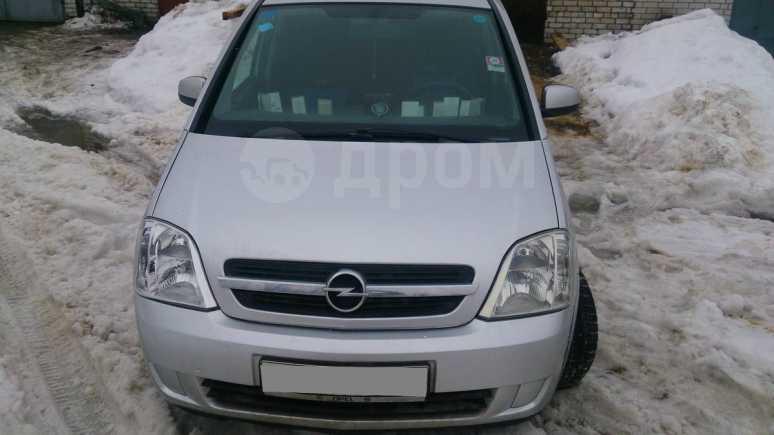 Opel Meriva, 2004 год, 320 000 руб.