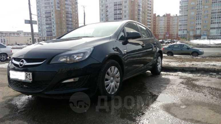 Opel Astra, 2013 год, 599 000 руб.