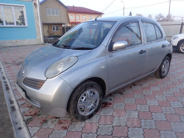 Nissan March, 2002 год, 190 000 руб.
