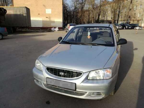 Hyundai Accent, 2004 год, 160 000 руб.