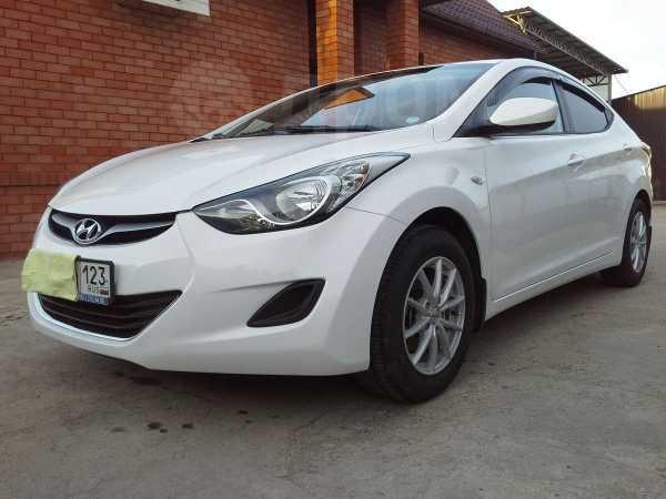 Hyundai Elantra, 2013 год, 685 000 руб.