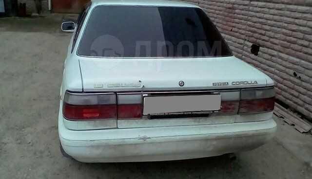 Toyota Corolla, 1991 год, 80 000 руб.