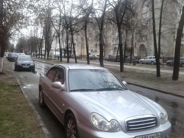 Hyundai Sonata, 2004 год, 195 000 руб.