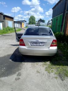 Болотное Corolla 2004