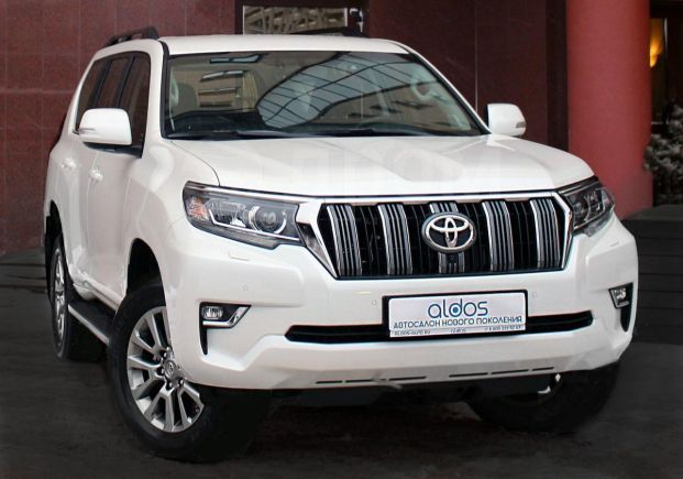 Toyota Land Cruiser Prado, 2019 год, 3 699 000 руб.