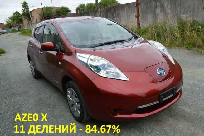 Nissan Leaf, 2013 год, 605 000 руб.