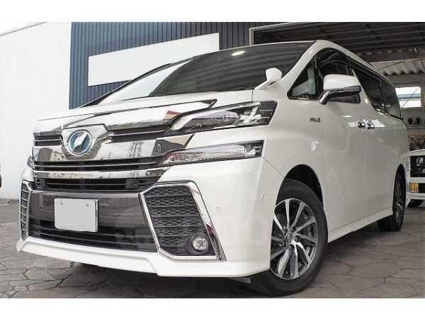 Toyota Vellfire, 2015 год, 1 870 000 руб.