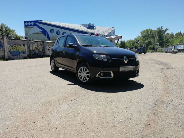 Renault Sandero, 2015 год, 435 000 руб.
