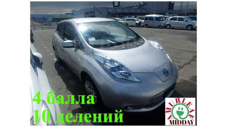 Nissan Leaf, 2014 год, 480 000 руб.
