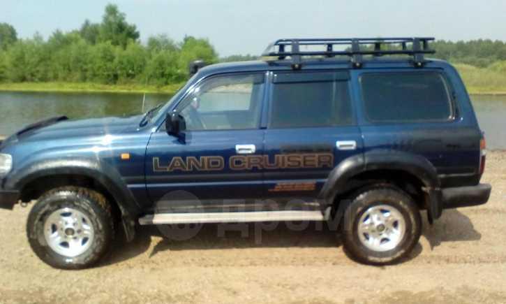 Toyota Land Cruiser, 1996 год, 800 000 руб.