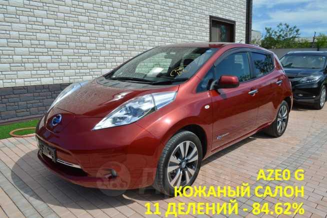 Nissan Leaf, 2013 год, 638 000 руб.