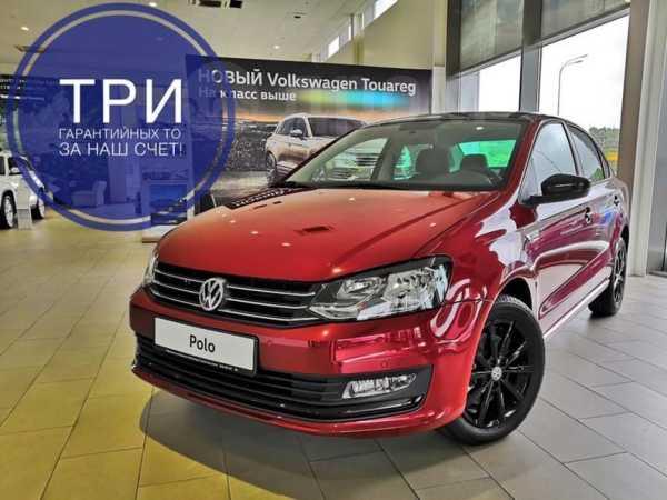 Volkswagen Polo, 2018 год, 1 022 290 руб.