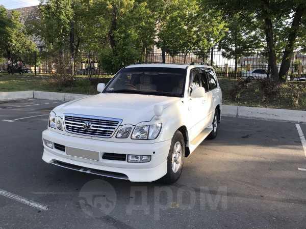 Toyota Land Cruiser Cygnus, 2002 год, 1 000 000 руб.