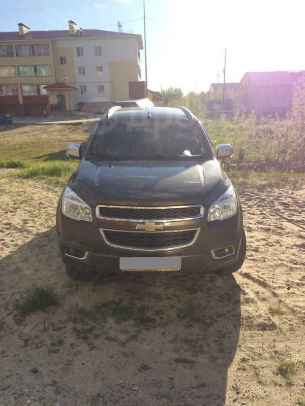 Chevrolet TrailBlazer, 2012 год, 1 100 000 руб.