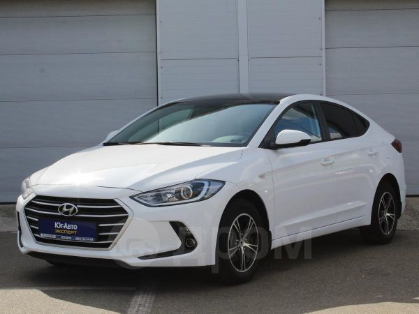 Hyundai Elantra, 2017 год, 865 000 руб.