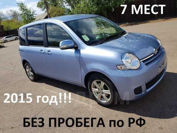 Toyota Sienta, 2015 год, 635 000 руб.