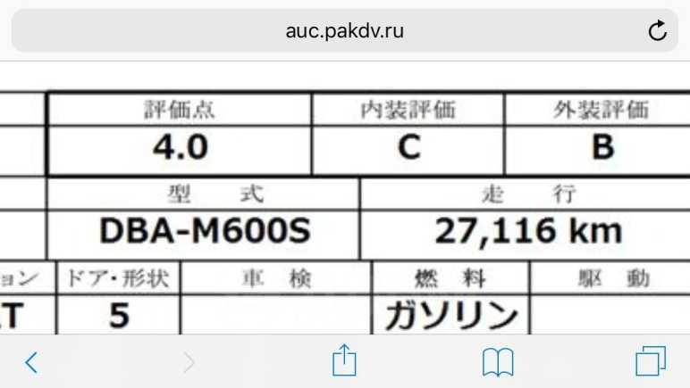 Daihatsu Boon, 2015 год, 405 000 руб.