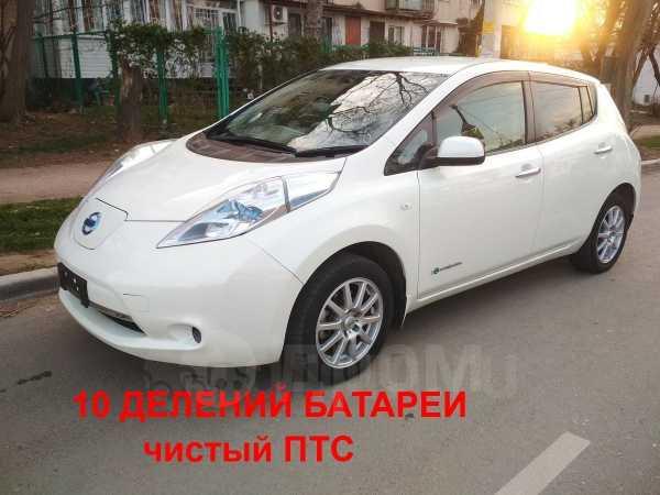 Nissan Leaf, 2011 год, 499 990 руб.