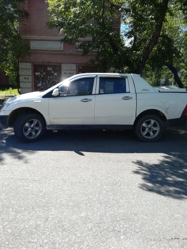 SsangYong Actyon Sports, 2007 год, 300 000 руб.