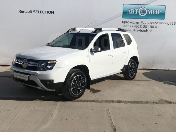 Renault Duster, 2017 год, 848 000 руб.
