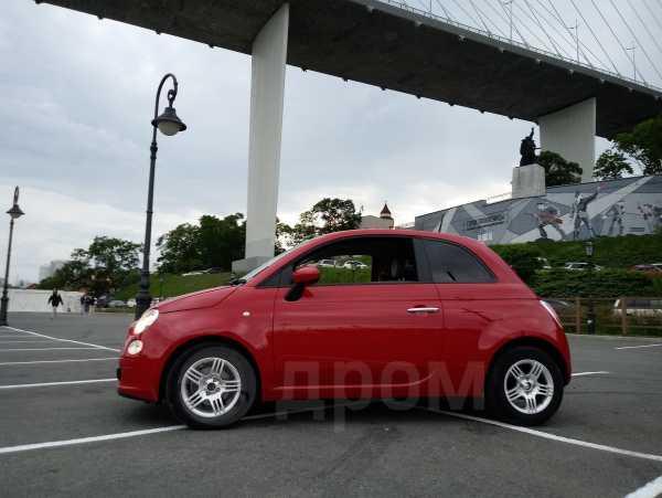Fiat 500, 2015 год, 450 000 руб.