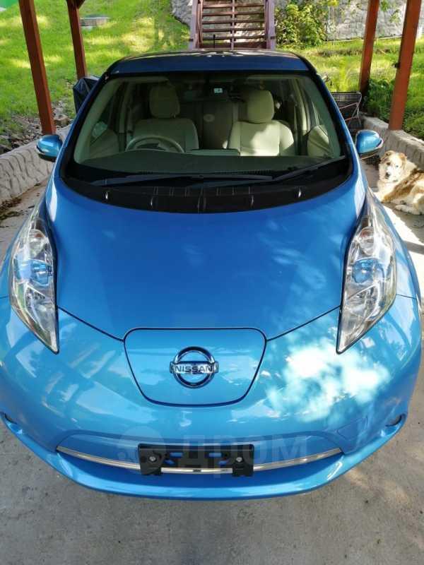 Nissan Leaf, 2013 год, 487 000 руб.