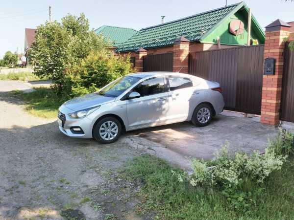 Hyundai Solaris, 2017 год, 785 000 руб.