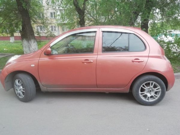 Nissan March, 2002 год, 183 000 руб.