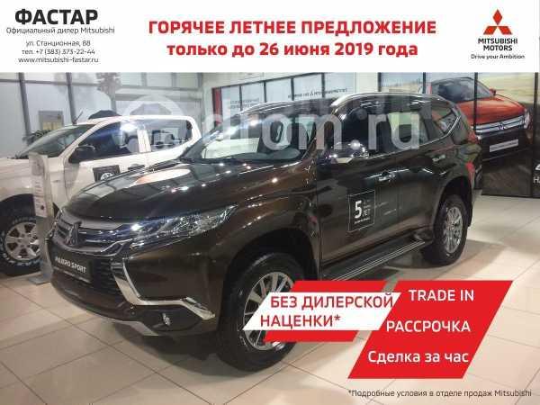 Mitsubishi Pajero Sport, 2019 год, 2 215 000 руб.