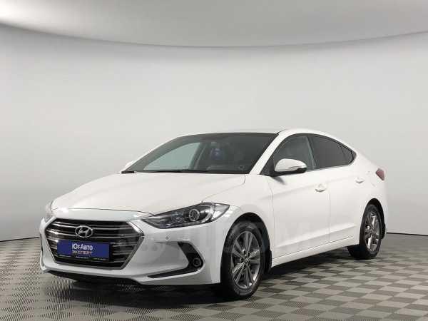 Hyundai Elantra, 2016 год, 898 800 руб.