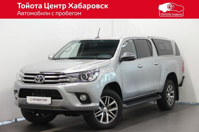 Toyota Hilux Pick Up, 2017 год, 2 640 000 руб.