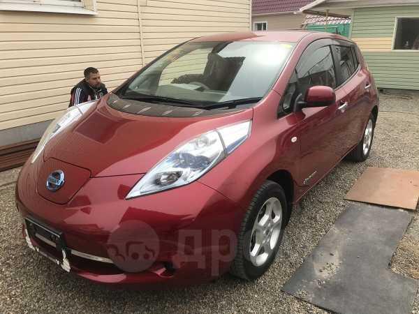 Nissan Leaf, 2012 год, 455 000 руб.