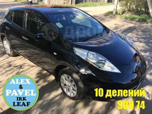 Nissan Leaf, 2013 год, 599 000 руб.