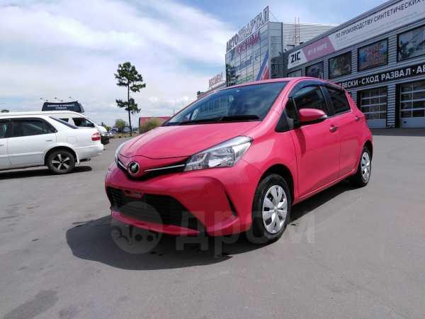 Toyota Vitz, 2015 год, 556 000 руб.