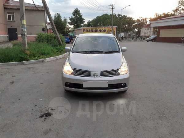 Nissan Tiida Latio, 2007 год, 315 000 руб.