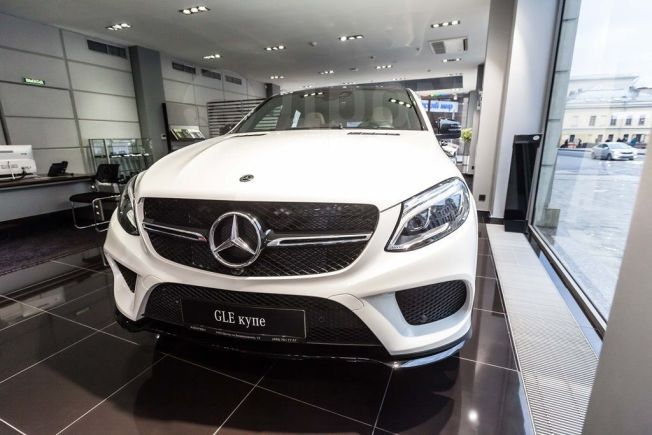 Mercedes-Benz GLE Coupe, 2019 год, 6 826 100 руб.