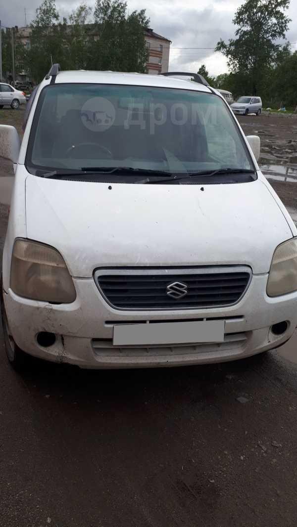 Suzuki Wagon R Plus, 1999 год, 85 000 руб.